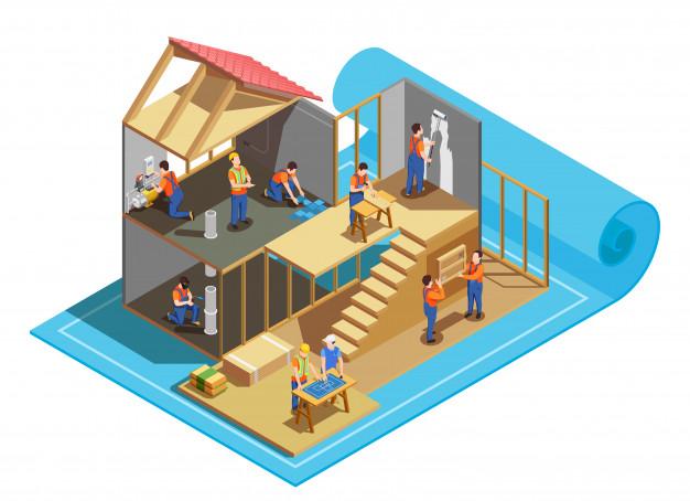 アンテナ工事のイメージ